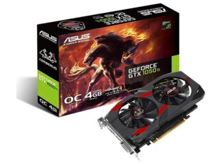 Asus GeForce GTX 1050 Ti 4GB Advanced
